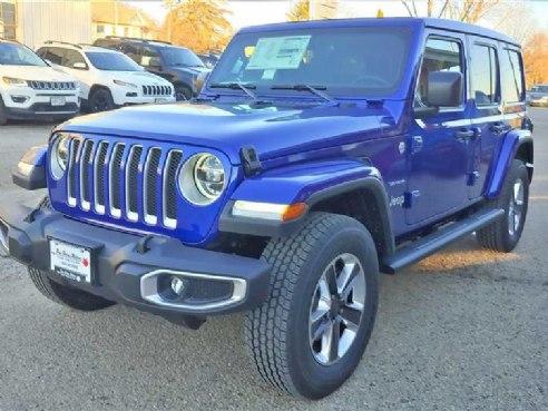 2018 Jeep Wrangler 4-Door UNLIMITED SAHARA for sale, West