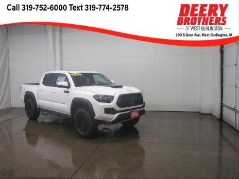 2019 Toyota Tacoma Trd Pro V6 Super White West Burlington Ia